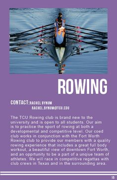 Rowing Rowing Club, Sports Clubs