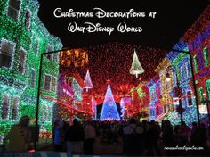 Click to find out what Walt Disney World uses 200,000 white LED lights for! Christmas Decorations at Walt Disney World. Mouse University Online