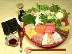 How to Make Futomaki Sushi and California Roll 太巻き寿司 カリフォルニアロール 作り方 レシピ - YouTube