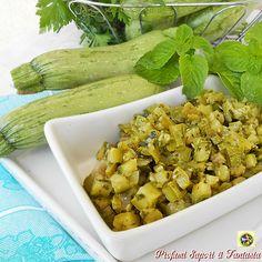 Zucchine alla menta e basilico