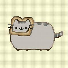Cat breading Pusheen pattern
