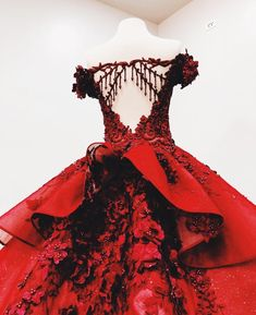 Off Shoulder Red Lace Ball Gown Long Evening Prom Dresses Cheap Custom Sweet 16 Dresses 18557 Long Prom Dresses Uk, Burgundy Homecoming Dresses, Floral Prom Dresses, Princess Prom Dresses, Quince Dresses, Backless Prom Dresses, Cheap Prom Dresses, Flower Dresses, Elegant Dresses