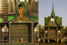 Impressive beer temple built in Thailand | Thailand tours information