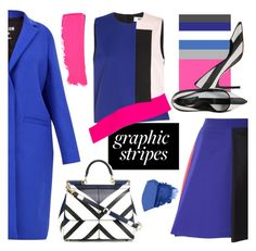 ***ALL IN STRIPES*** by ansev on Polyvore featuring polyvore fashion style MSGM Dolce&Gabbana Chanel Urban Decay clothing