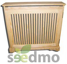 A punto de llegar el invierno, y hay que proteger a los radiadores de nosotros y a nosotros de ellos con este CUBRERRADIADOR CON LISTONES #hogar #decoracion