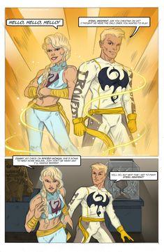 Iron Fist Marvel, Spider Gwen, Comic Books, Hero, Deviantart, Fan, Comics, Awesome, Cartoons