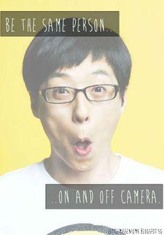 Yoo Jae Suk. Things that each RM member taught me. #YooJaeSuk #RunningMan
