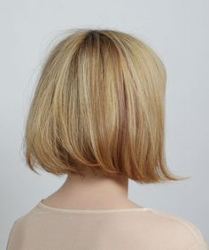 Perfect Bob Haircuts 2015 Back View