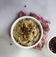 Pouding aux graines de chia pistache