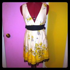 Selling this NWOT V Neck White Floral Flare Dress on Poshmark! My username is: jonsey772. #shopmycloset #poshmark #fashion #shopping #style #forsale #Forever 21 #Dresses & Skirts