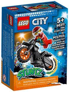 Stunt Bike, Lego City, Comic Books, Comics, Cover, Toys, Fire, Cartoons, Cartoons
