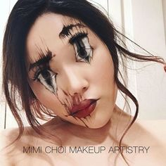 Makeup is usually used for slightly adjusting the everyday look but some actually realize its true potential. Mimi Choi from Vancouver, Canada is one of them. She is a 31-year-old makeup artist who cr