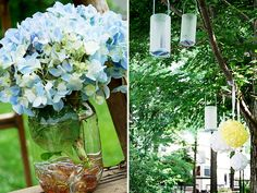 Love anything with mason jars :) -Hostest with the mostest