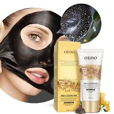 Propolis Volcano Mud Remover Blackhead Face Mask Face Care Deep Cleansing Purifying Peel Black Mud Face Mask
