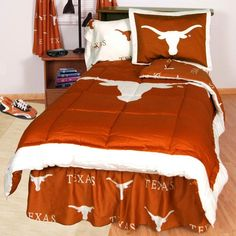 College Covers Collegiate Bed in a Bag - With White Sheets -