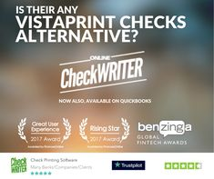 Vistaprint Checks - Switch to Blank Check paper & Save 80% - Print Online