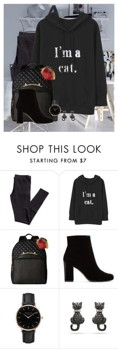 """""""Ready For Class"""" by ggmusicista on Polyvore featuring moda, H&M, Betsey Johnson, Yves Saint Laurent e Topshop"""