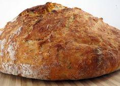 Irský chléb s podmáslím bez kynutí