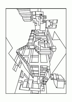 Best Minecraft World Coloring Pages - Free, printable Minecraft ...