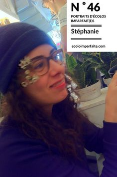 Portraits d'écolos imparfait(e)s : Stéphanie Portraits, Head Shots, Portrait Paintings, Portrait
