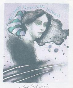 Ex libris by V. Suchanek