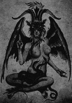 Dark forest, glow of the lake, an eternal dance of death Baphomet, Dark Fantasy, Fantasy Art, Dance Of Death, Satanic Art, Macabre Art, Occult Art, Arte Horror, Creepy Art