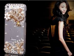 Crystal iPhone Cases With Bling Diamond Crown Case Cover For iphone SE iphone…