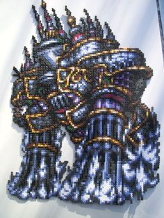 Perler Final Fantasy Alexander by ~artemis251 on deviantART