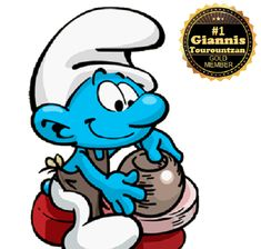 Smurfs, Cartoons, Pottery, Fictional Characters, Ceramica, Cartoon, Cartoon Movies, Pottery Marks, Ceramic Pottery