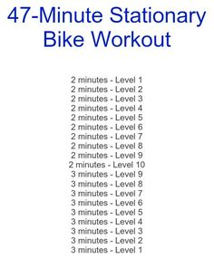 Exercise bikes are a wonderful way to get a low-impact exercise workout. Spin Bike Workouts, Treadmill Workouts, Cardio, At Home Workouts, Walking Workouts, Recumbent Bike Workout, Bicycle Workout, Cycling Workout, Hiit Bike