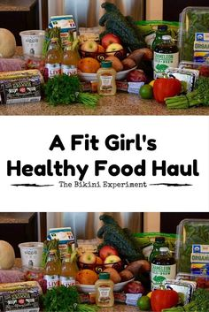 A peak into a fit girl's healthy food haul. Tips and suggestions for grocery items and products to fuel your health and fitness lifestyle. The Bikini Experiment Granola, Honey And Lemon Drink, Foods For Brain Health, Health And Wellness, Health Fitness, Wellness Tips, Honey Benefits, Paleo, Breakfast Food List