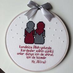Cross Stitch Embroidery, Hand Embroidery, Cross Stitch Patterns, Needlework, Origami, Anime Art, Canvas, Handmade, Islamic