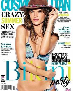Alessandra for Cosmopolitan June 2016