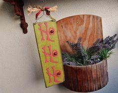 Natal, Placa de Natal, Ho Ho Ho, christmas, christmas sign, green, verde