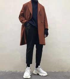 *Comply with for extra Streetwear Collections* - Komplette Outfits, Casual Outfits, Fashion Outfits, Hipster Outfits Men, Winter Outfits, Blazer Outfits, Fashion Hacks, Mens Fashion Shoes, Latex Fashion