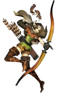Elf Concept - Pictures & Characters Art - Dragons Crown
