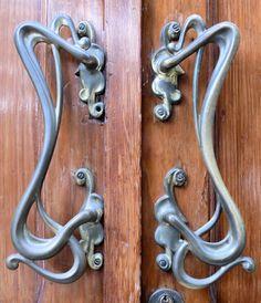 art-nouveau-door-handles