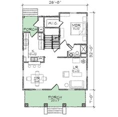 Bungalow With Loads of Options - 10061TT | 1st Floor Master Suite, CAD Available, Cottage, Craftsman, Jack & Jill Bath, Narrow Lot, PDF, Photo Gallery | Architectural Designs