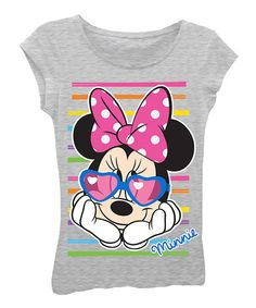 Take a look at this Minnie Mouse Sunglasses Tee - Toddler & Girls on zulily today!