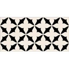 Carrelage fa ence carrelage design pois noir comptoir for Plinthe carrelage noir brillant 10 x 20