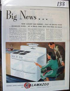 133 Kalamazoo Appliances Ad - 1946