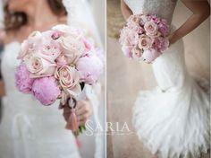 wedding, flowers, bride, dress, white, peonies