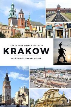 Proud of its long and rich heritage, here is a comprehensive travel guide to Krakow and the top 10 FREE things that you can do in this charming city! via http://iAmAileen.com/free-things-to-do-in-krakow-poland-travel-guide/ #europe #travel #thingstodo