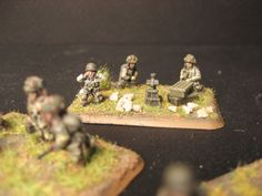 Flames of War, 15mm 101st Airborne, mortar team