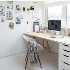 Workspace Inspo and Image Regram thanks to Holly @holly_avenuelifestyle based in the Netherlands. It's Flashback Friday where we revisit some of our favpurite workspaces from TWS early days. We love seeing the workspaces of talented creatives. ..this one belongs to Holly @holly_avenuelifestyle a Journalist Stylist and also Blogger. How good is workspace with a view...there is nothing better and more inspiring!  We love all that beautiful natural light and that fab brass lamp....such a…