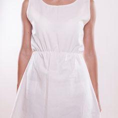 Artbe - Bavlněné šaty s krajkou