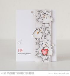 Ewe Are the Best, Ewe Are the Best Die-namics - Anna Kossakovskaya #mftstamps