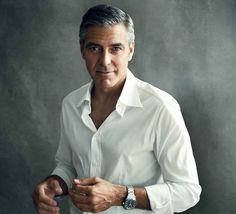 George Clooney w kampanii zegarków Omega, fot. omegawatches.com