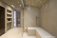 Piet Boon Villa – Wellness Badkamer – Boncreat Beton Cire by Boncreations Piet Boon Villa – Wellness