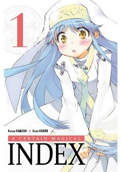 "A certain magical index- I finally found it at a bookstore! I thought it was never made into English. Inner voice ""score!"""